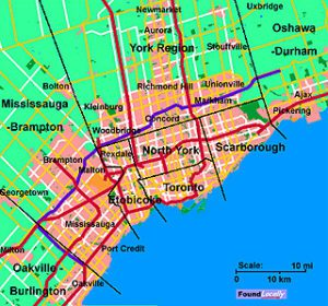 Greater Toronto Area communities on FoundLocally