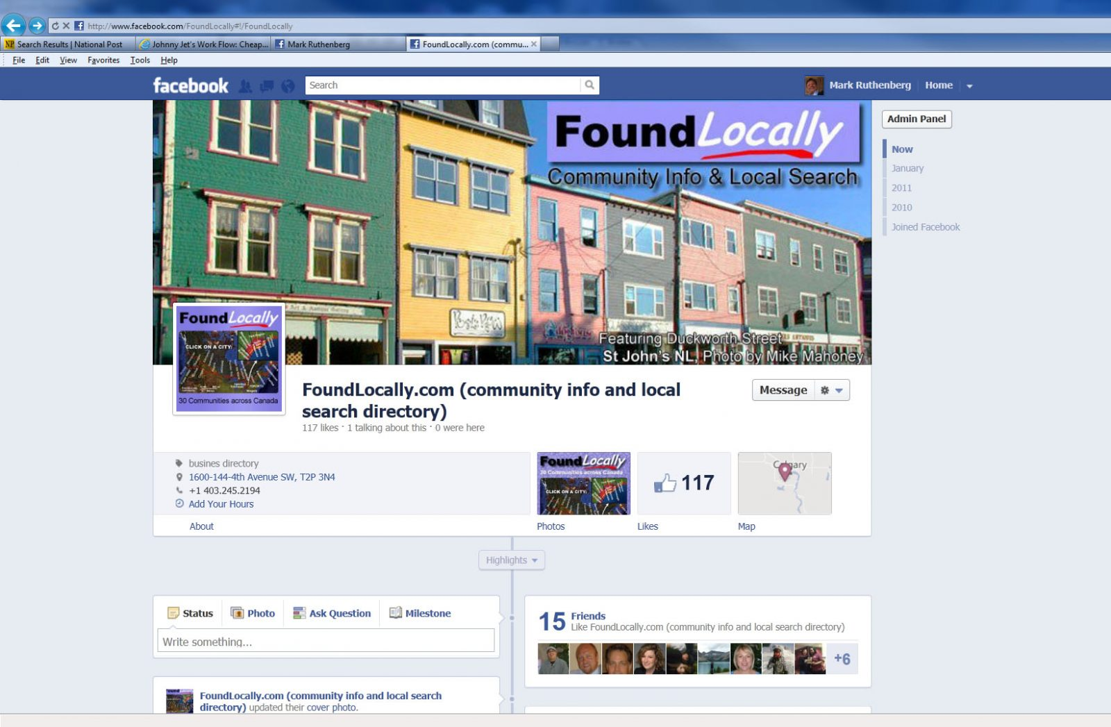 Are You Ready For Facebook's New Timeline View For Your Business Page?