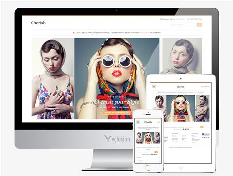 Volusion E-commerce Template Sample