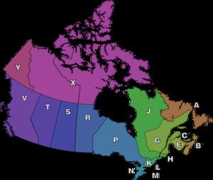 Postal Codes Across Canada
