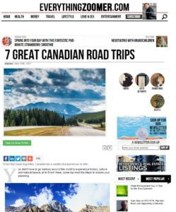 7 Great Canadian Road Trips-EverythingZoomer