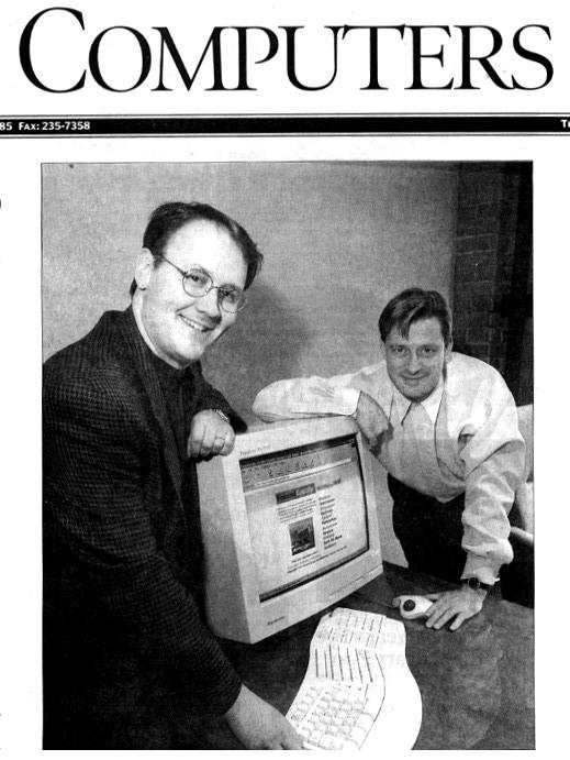 Calgary Herald Article Photo-1999