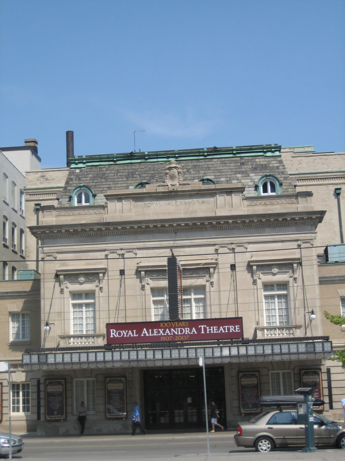 King-Royal Alexandre Theatre, In Toronto
