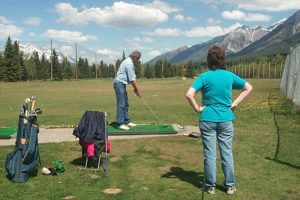 Canmore Golf Club Practice Tees