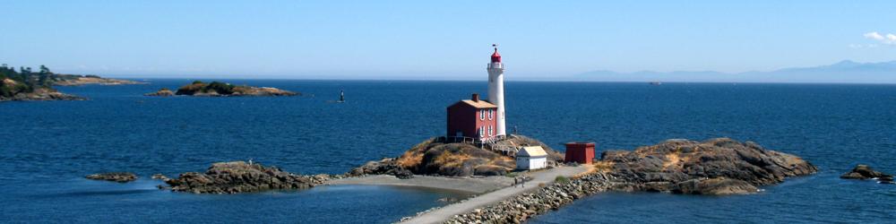 Fisgard Lighthouse in Victoria
