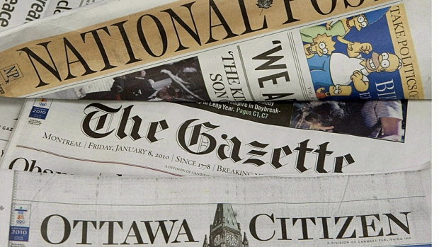 Ottawa Cuts Newspaper Ad Spending
