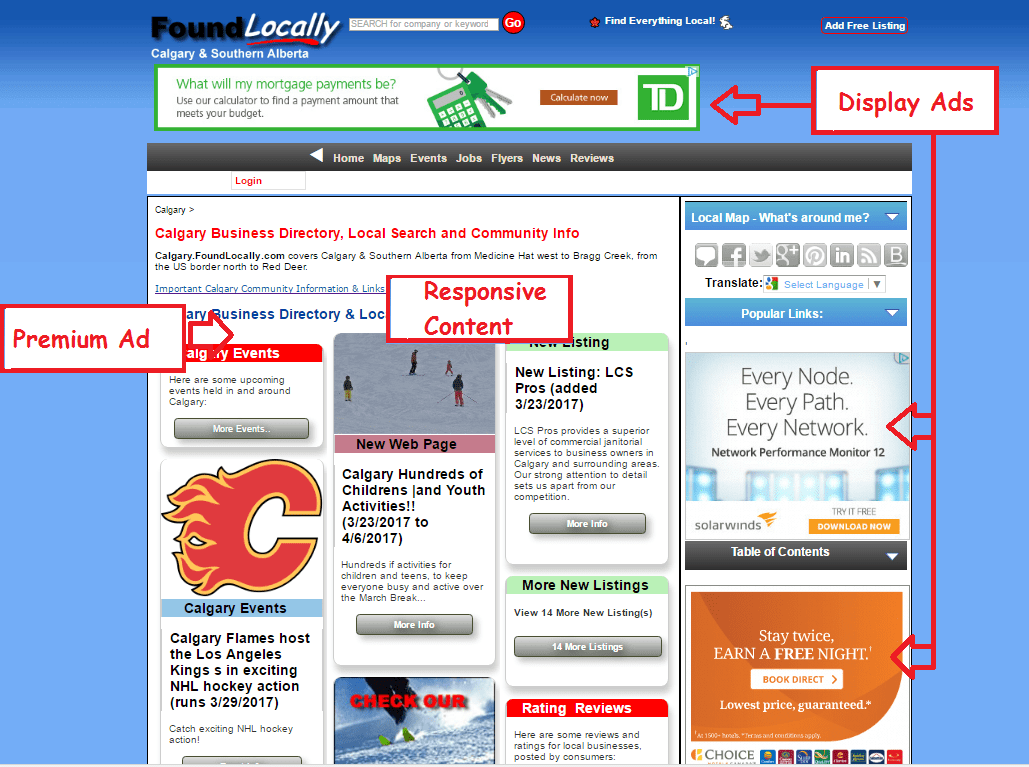 FoundLocally-Responsive Design