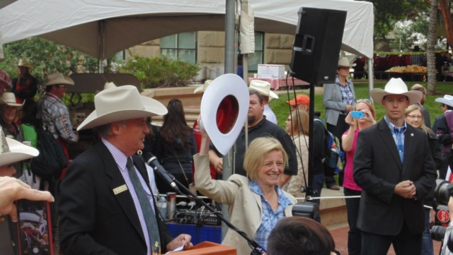 Premier Notley, at Premier's Stampede Breakfast