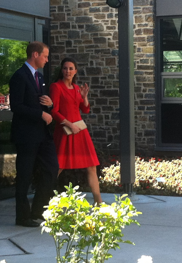Kate And William Leaving Zoo Conservatory luncheon event