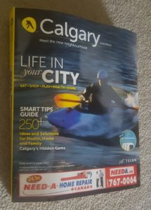 Yellow Pages paper directory in Calgary