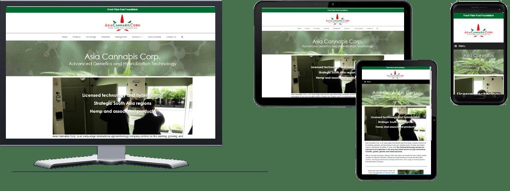 Asia Cannabis Corp - Portfolio