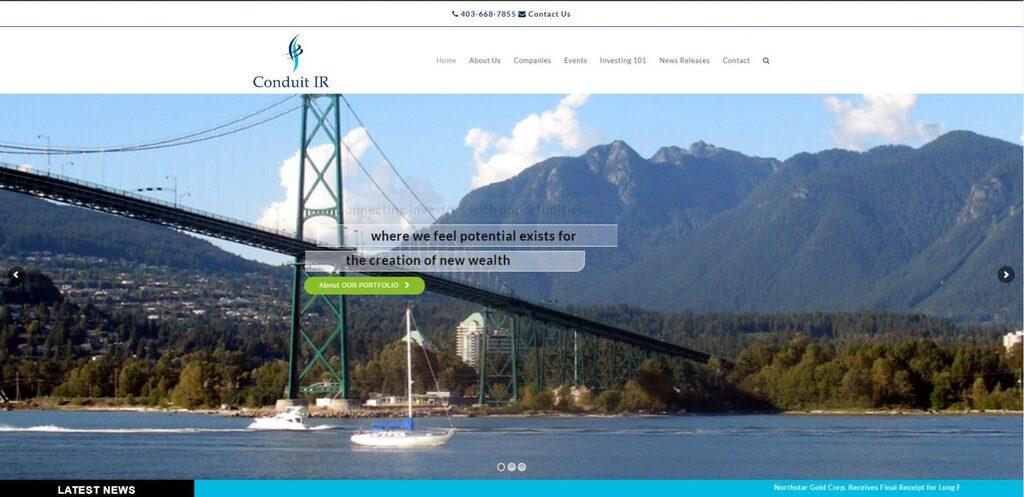 Conduit Capital Advisors desktop