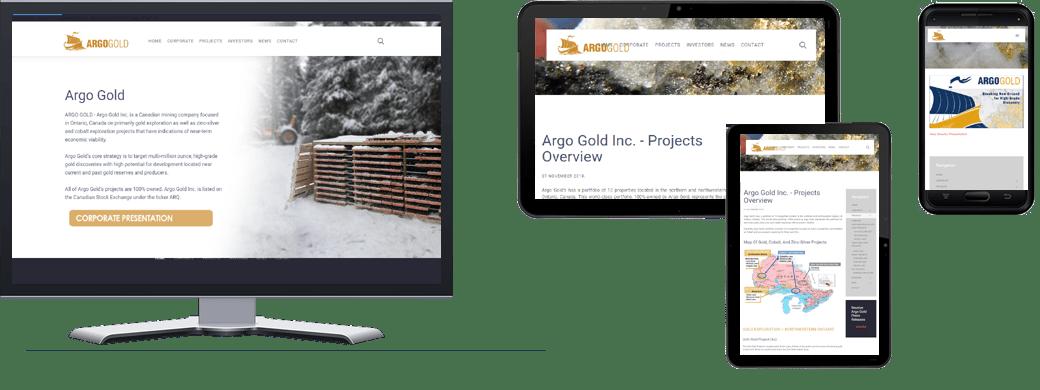 Argo Gold Inc. portfolio
