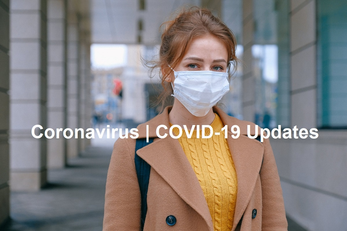Coronavirus Updates: Woman With Surgical Mask (by Anna Shvets)