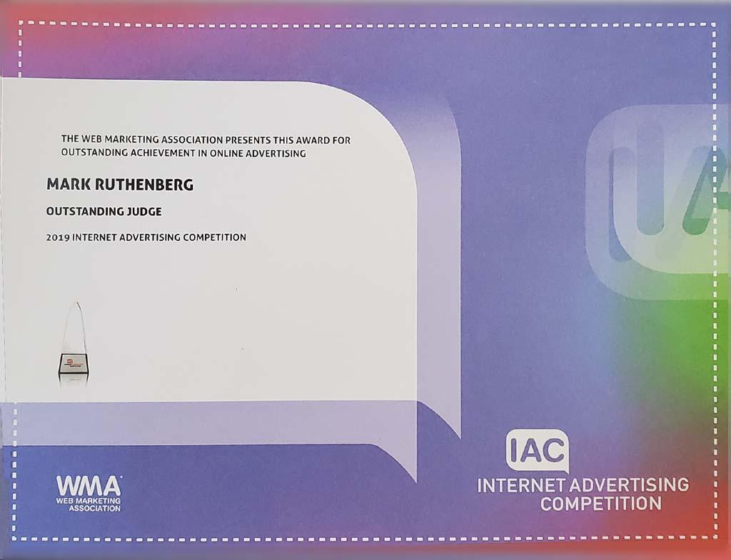 IAC 2019 Outstanding Judge